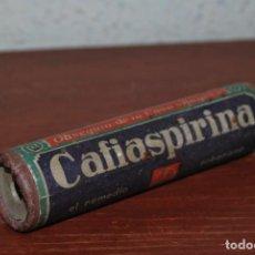 Antigüedades: CALEIDOSCOPIO CON PUBLICIDAD DE CAFIASPIRINA - BAYER - FARMACIA - AÑOS 40. Lote 61770944