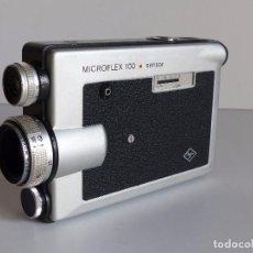 Antigüedades: CAMARA SUPER 8 AGFA MICROFLEX 100 SENSOR MADE IN GERMANY , 1969. Lote 61808556