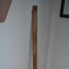Antigüedades: ANTIGUO METRO DE MADERA - MARCA FAIBO. Lote 61899460