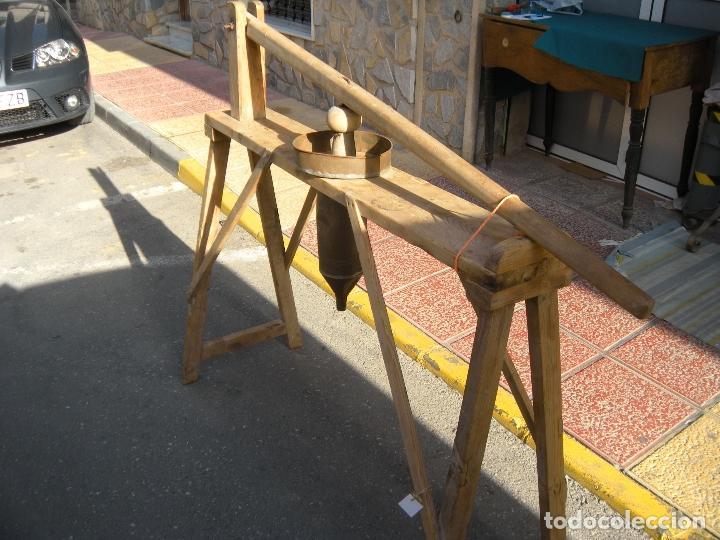 Antigüedades: ETNOGRAFÍA. ANTIGUA MÁQUINA DE EMBUTIR. CARNICERÍA - Foto 7 - 61946872