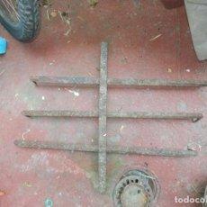 Antiquités: REJA MUY ANTIGUA PARA VENTANA FORJA ANTIGUA 50 CM X 63 CM + -. Lote 61949128