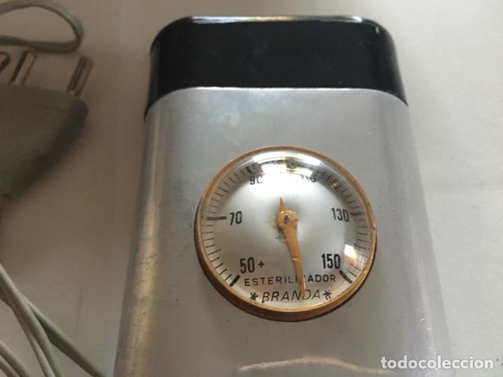 Antigüedades: ANTIGUO ESTERILIZADOR MEDICO. MARCA BRANDA - Foto 3 - 62008043
