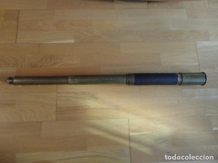 GRAN CATALEJO (Antigüedades - Técnicas - Instrumentos Ópticos - Catalejos Antiguos)