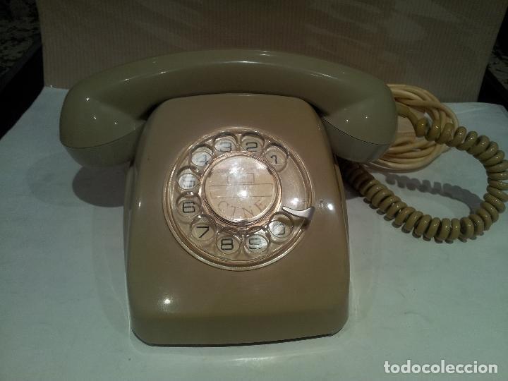 ANTIGUO TELEFONO HERALDO AÑOS 60/70 VER FOTOS (Antigüedades - Técnicas - Teléfonos Antiguos)
