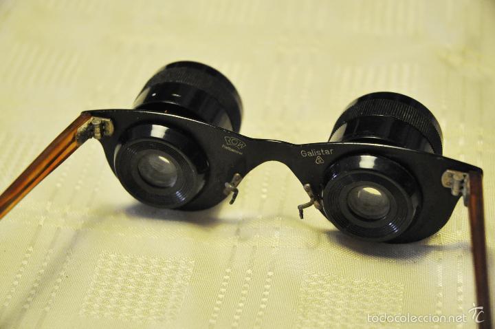 GAFAS PRISMÁTICOS PARA VER DE LEJOS (Antigüedades - Técnicas - Instrumentos Ópticos - Prismáticos Antiguos)