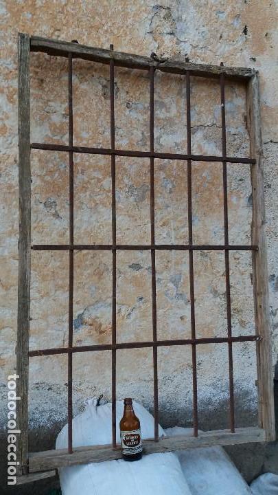 Reja antigua de hierro forjado para casa o cort comprar forjas antiguas en todocoleccion - Rejas de forja antiguas ...