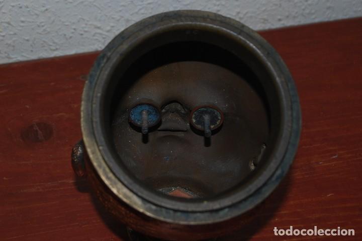 Antigüedades: ANTIGUO MOLDE DE BRONCE PARA CABEZA DE MUÑECO - MUÑECA - Foto 5 - 100455691