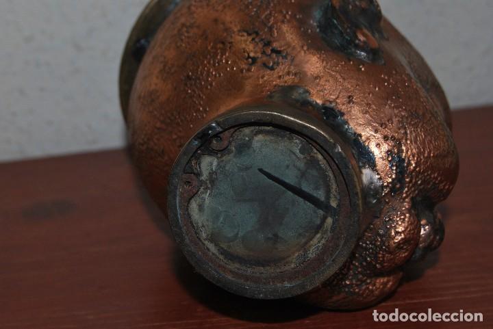 Antigüedades: ANTIGUO MOLDE DE BRONCE PARA CABEZA DE MUÑECO - MUÑECA - Foto 8 - 100455691