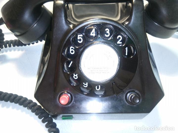 Teléfonos: ANTIGUO TELEFONO - ALEMANIA 1.962 - . EXCE. ESTADO MAQU.DESCRIPCION. FOTOS INTERIOR/EXTERIOR - Foto 6 - 62329160