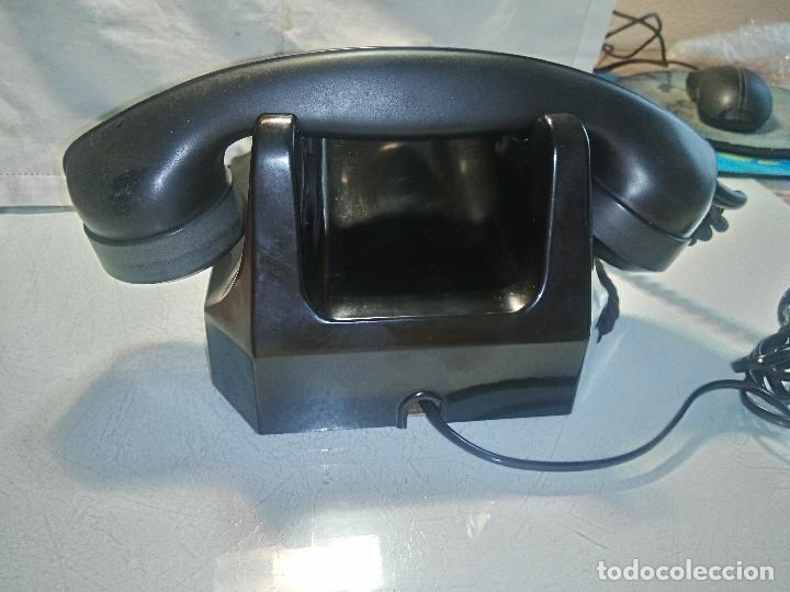 Teléfonos: ANTIGUO TELEFONO - ALEMANIA 1.962 - . EXCE. ESTADO MAQU.DESCRIPCION. FOTOS INTERIOR/EXTERIOR - Foto 8 - 62329160