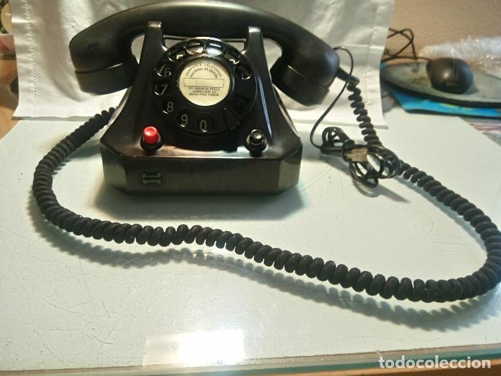 Teléfonos: ANTIGUO TELEFONO - ALEMANIA 1.962 - . EXCE. ESTADO MAQU.DESCRIPCION. FOTOS INTERIOR/EXTERIOR - Foto 14 - 62329160