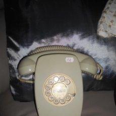 Teléfonos: TELÉFONO DE PARED HERALDO DE CITESA COLOR GRIS BUEN ESTADO AÑOS 70 80. Lote 107503243