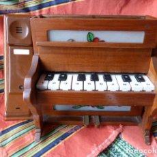 Teléfonos: TELEFONO EN FORMA DE PIANO. Lote 62439556