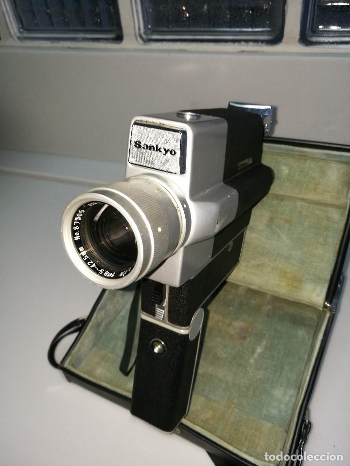CÁMARA VIDEO SANKYO SUPER 5 CM (Antigüedades - Técnicas - Aparatos de Cine Antiguo - Cámaras de Super 8 mm Antiguas)