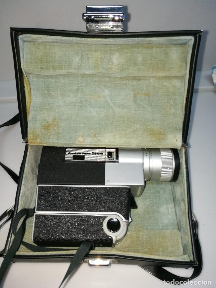 Antigüedades: Cámara video Sankyo super 5 cm - Foto 4 - 62450340