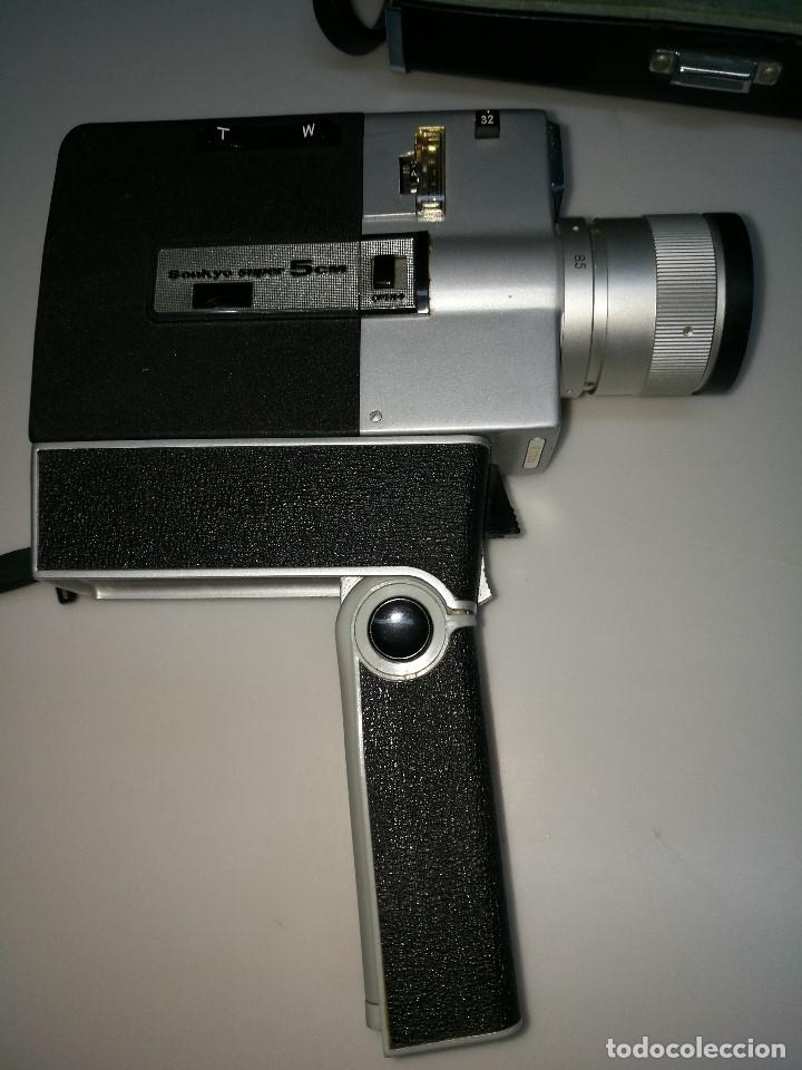 Antigüedades: Cámara video Sankyo super 5 cm - Foto 6 - 62450340