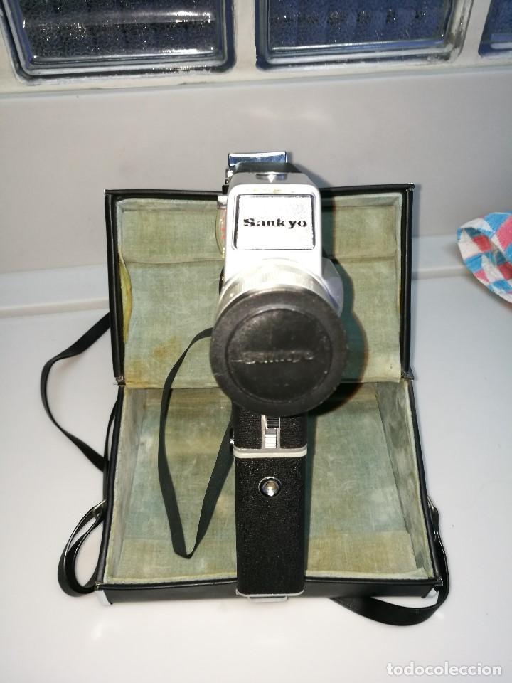 Antigüedades: Cámara video Sankyo super 5 cm - Foto 7 - 62450340