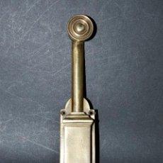 Antigüedades: PESTILLO DE METAL DE 27 CM DE LARGO POR 4,5 DE ANCHO. Lote 62459388