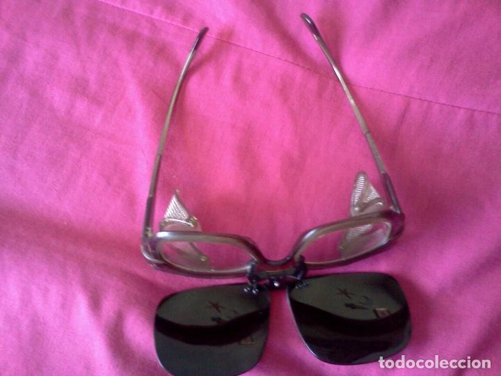 Antigüedades: Gafas de proteccion y suplemento - Foto 2 - 80975519