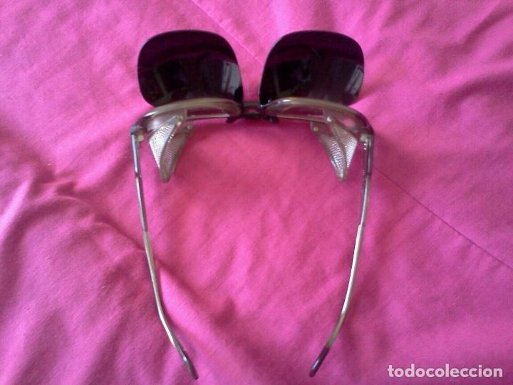 Antigüedades: Gafas de proteccion y suplemento - Foto 5 - 80975519