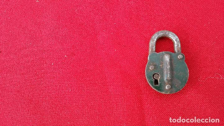Antigüedades: candado antiguo - Foto 2 - 62569572