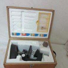 Antigüedades: MICROSCOPIO EN SU CAJA ORIGINAL. Lote 63028576