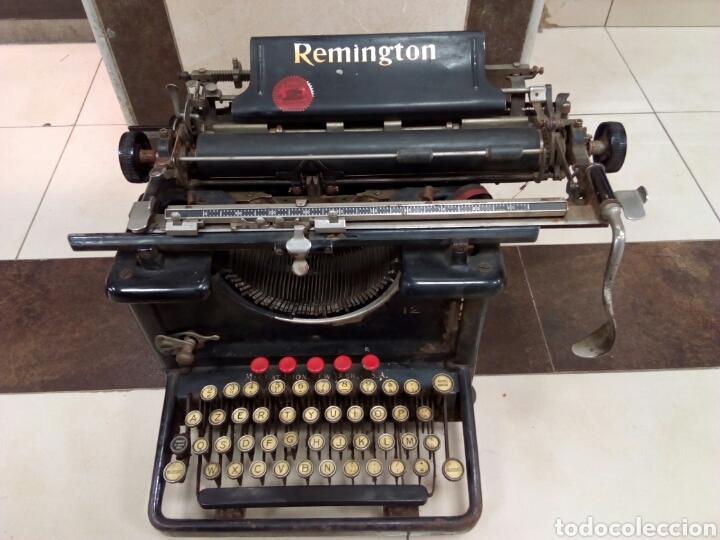 MÁQUINA DE ESCRIBIR REMINGTON (Antigüedades - Técnicas - Máquinas de Escribir Antiguas - Remington)