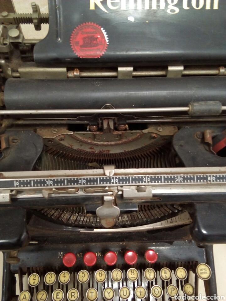 Antigüedades: Máquina de escribir Remington - Foto 2 - 63127191