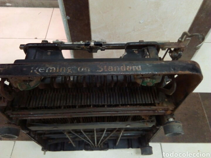 Antigüedades: Máquina de escribir Remington - Foto 5 - 63127191