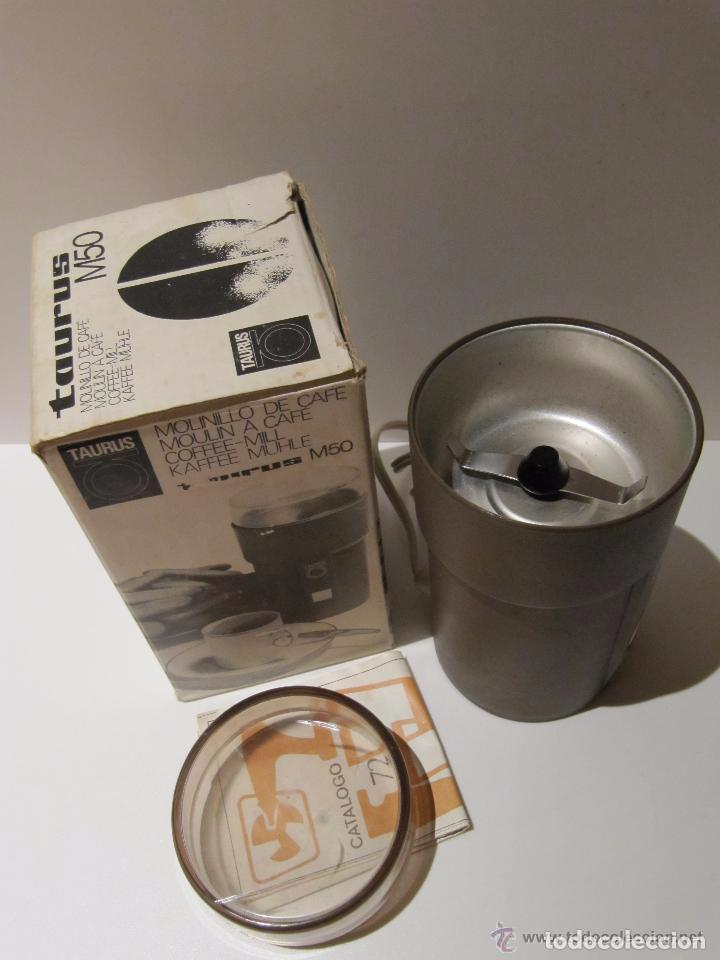 Antigüedades: MOLINILLO ELECTRICO TAURUS M50 AÑOS 70 - Foto 6 - 217916228
