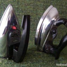 Antigüedades: LOTE DE DOS PLANCHAS ELECTRICAS. Lote 63269600