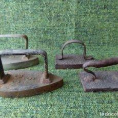 Antigüedades: LOTE DE CUATRO PLANCHAS. Lote 63269832
