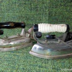 Antigüedades: LOTE DE DOS PLANCHAS ELECTRICAS. Lote 63269924