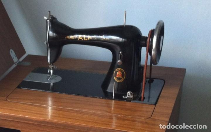 maquina de coser marca alfa, modelo 20 del año - Comprar