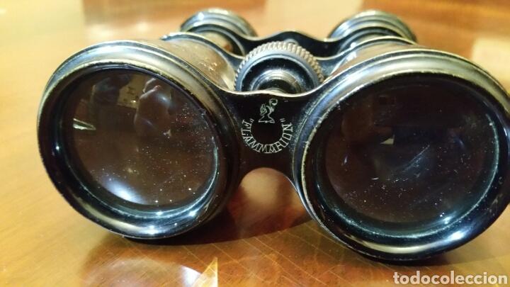 Antigüedades: Binoculares, anteojos, Flammarion. Óptico de la Real Casa. S. XIX - Prismaticos. - Foto 2 - 63349036