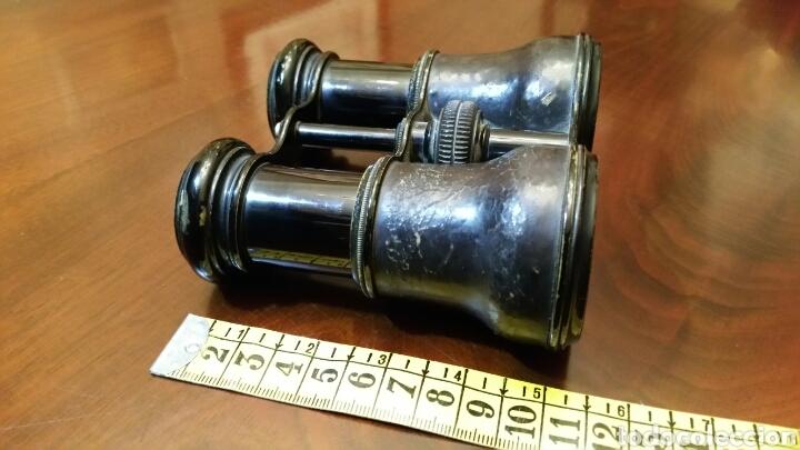 Antigüedades: Binoculares, anteojos, Flammarion. Óptico de la Real Casa. S. XIX - Prismaticos. - Foto 6 - 63349036