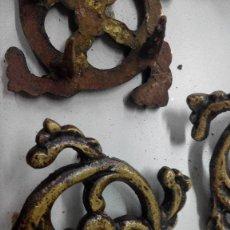 Antigüedades: HERRAJES DE UNA MESA. Lote 63383480