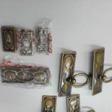 Antigüedades: ADORNOS PARA CERRADURAS Y TIRADORES. Lote 63384376