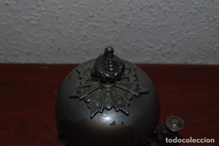 Antigüedades: PRECIOSO TIMBRE DE SOBREMESA - ART NOUVEAU - MODERNISMO - HOTEL - COMERCIO - CIRCA 1900 - Foto 6 - 63477520