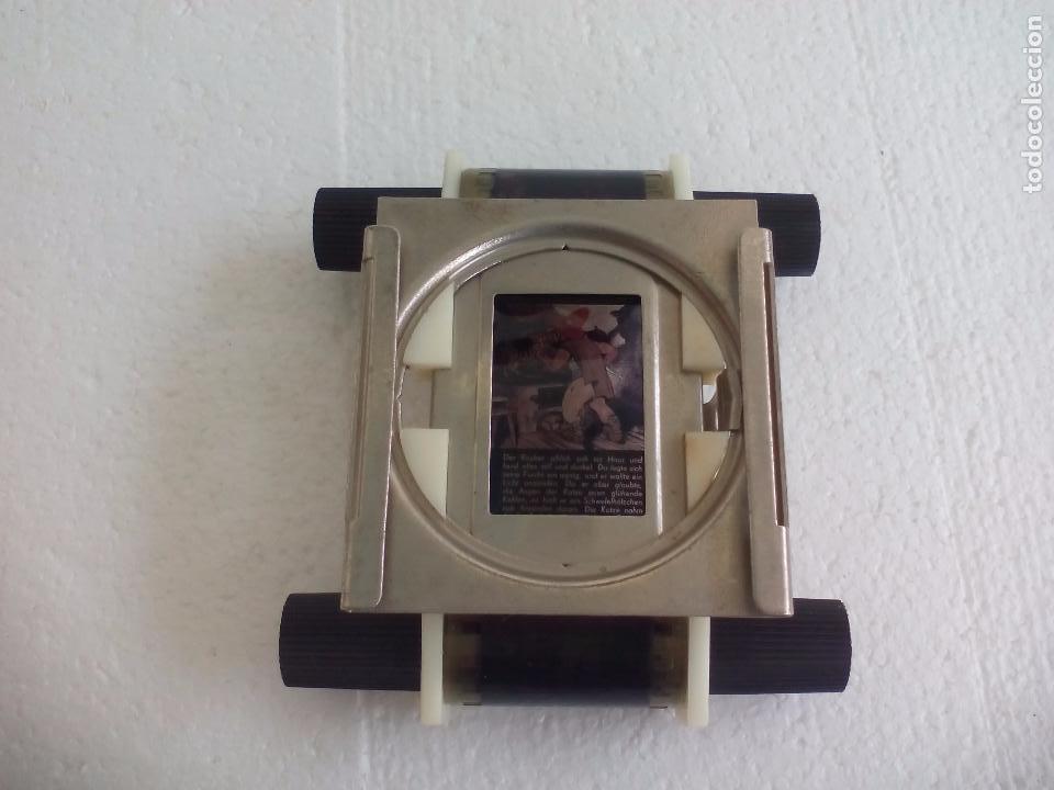 Antigüedades: Visor o parte de un proyector o reproductor de cine o fotografía, desconozco el tema - Foto 2 - 63519612