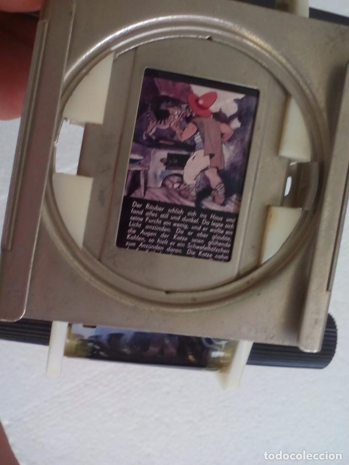 Antigüedades: Visor o parte de un proyector o reproductor de cine o fotografía, desconozco el tema - Foto 3 - 63519612