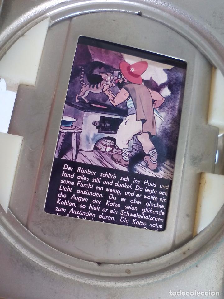 Antigüedades: Visor o parte de un proyector o reproductor de cine o fotografía, desconozco el tema - Foto 4 - 63519612