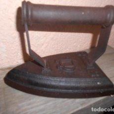 Antigüedades: ANTIGUA PLANCHA DE HIERRO Nº 5 SIGLO XIX. Lote 63559128