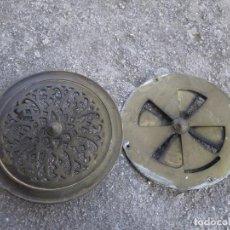 Antigüedades: MIRILLA DE BRONCE GRAN TAMAÑO ,IDEAL RESTAURADORES ,,, VER . Lote 63774423