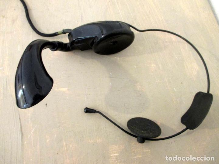 Teléfonos: AURICULAR Y MICRÓFONO PARA TELEFONISTA OPERADORA. CENTRALITA. BAQUELITA. - Foto 10 - 63894847