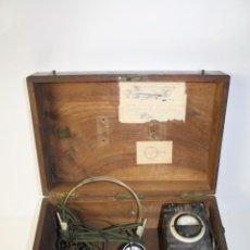 Antigüedades: ELEVADOR - REDUCTOR - CON AURICULARES - PRINCIPIOS DEL SIGLO XX. Lote 43906665