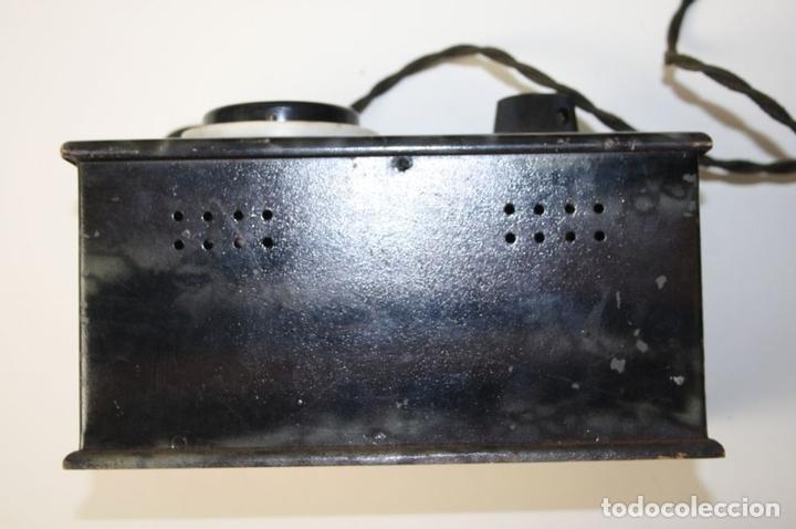 Antigüedades: ELEVADOR - REDUCTOR - CON AURICULARES - PRINCIPIOS DEL SIGLO XX - Foto 6 - 43906665