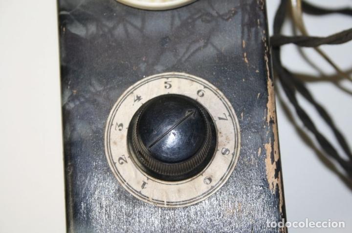 Antigüedades: ELEVADOR - REDUCTOR - CON AURICULARES - PRINCIPIOS DEL SIGLO XX - Foto 8 - 43906665