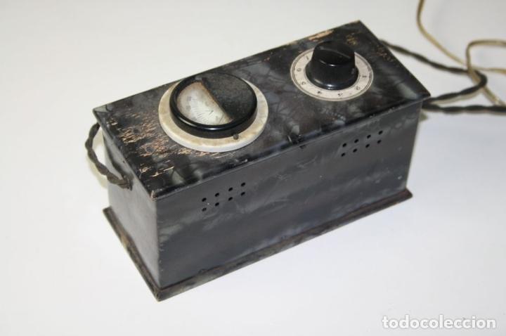 Antigüedades: ELEVADOR - REDUCTOR - CON AURICULARES - PRINCIPIOS DEL SIGLO XX - Foto 9 - 43906665