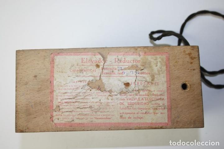 Antigüedades: ELEVADOR - REDUCTOR - CON AURICULARES - PRINCIPIOS DEL SIGLO XX - Foto 10 - 43906665